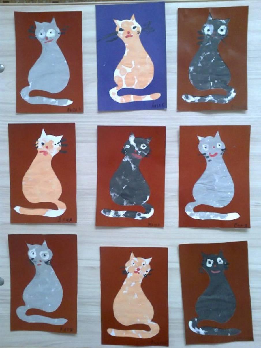 Конспект занятия по рисованию домашних животные