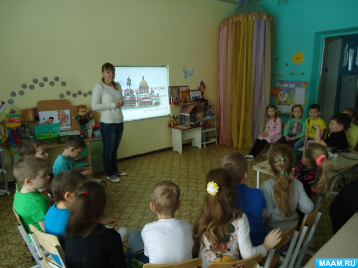 Беседа «74 годовщина блокады Ленинграда»