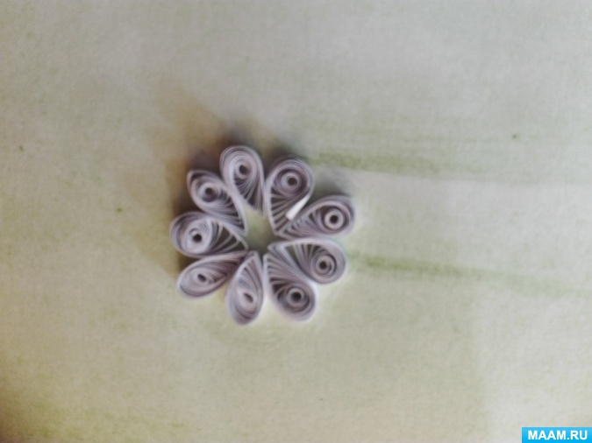 Пошаговый фото мастер-класс квиллина по созданию колоска