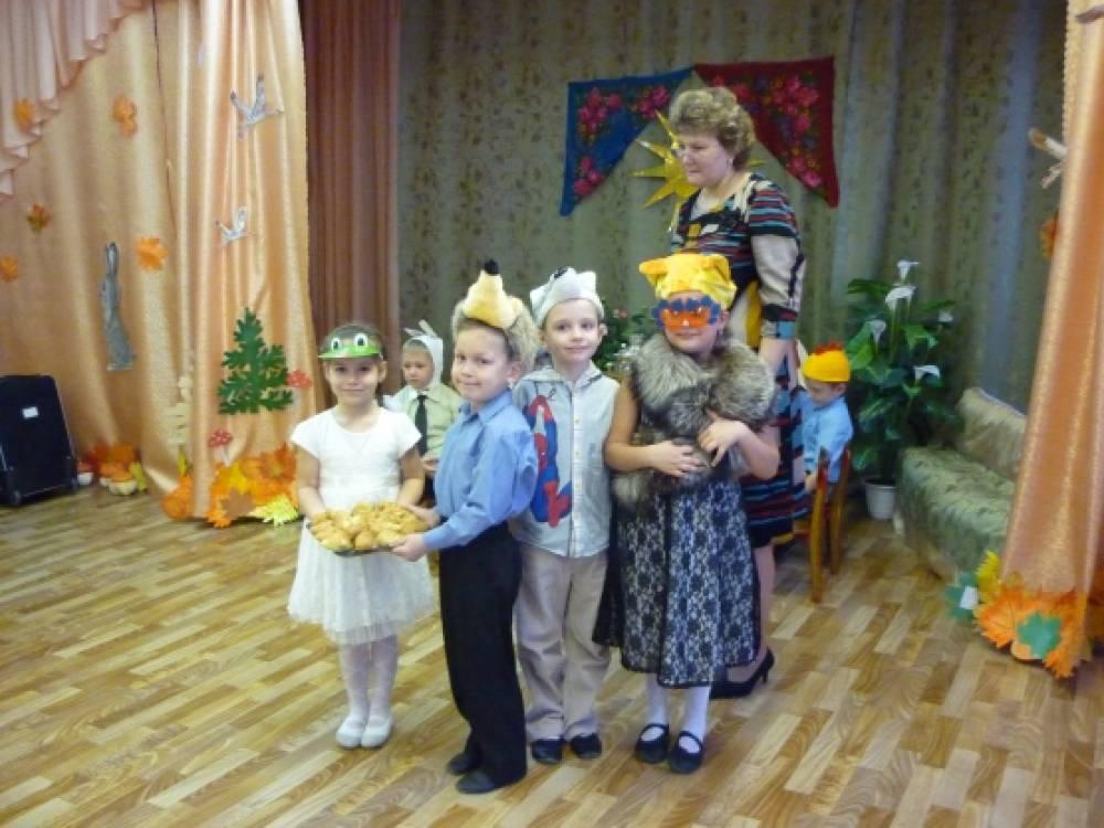 Сценарий музыкального развлечения «Именины Осени»