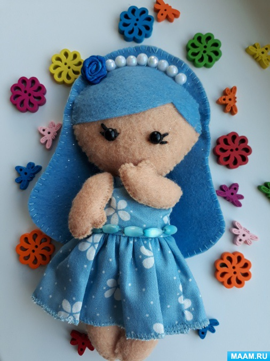 Мастер-класс «Кукла из фетра»