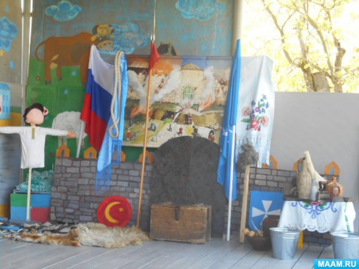 Непосредственно-образовательная деятельность по художественно-эстетическому развитию детей «Наша казачья культура»