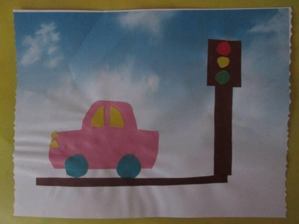 Конспект занятия в старшей группе на тему правила дорожного движения
