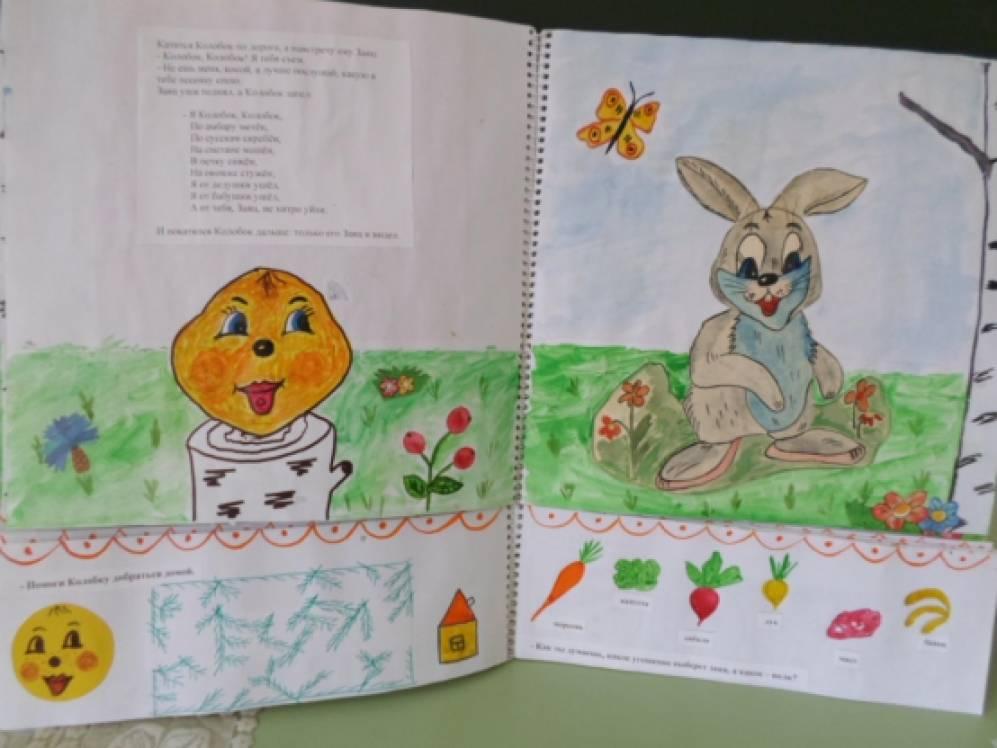 Книжки-малышки своими руками в детском саду сказки