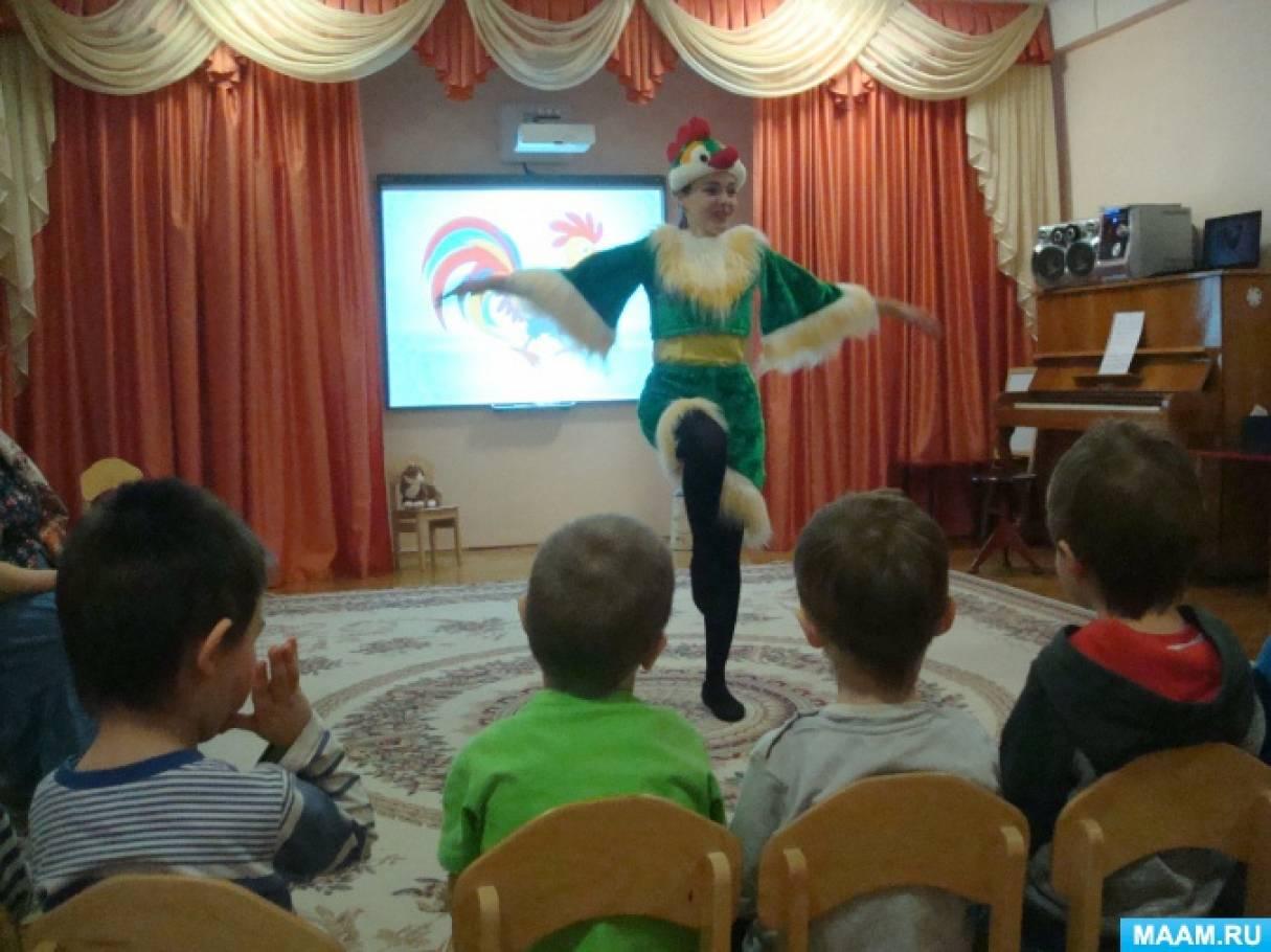 Развлечение для детей младшего дошкольного возраста «Русские народные игры и потешки»