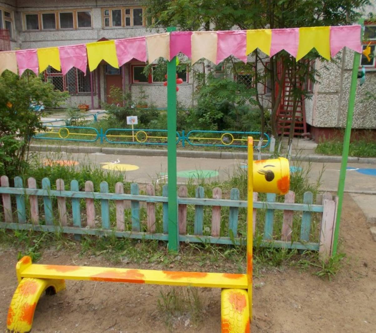 Оформление на участке детского сада своими руками фото 2