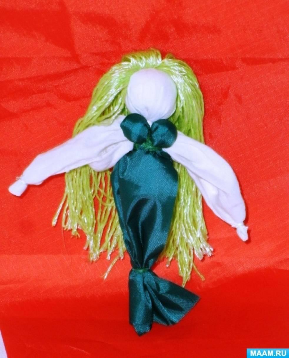 знакомство детей с тряпичной куклой