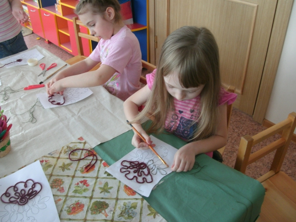Техники рисования в детском саду