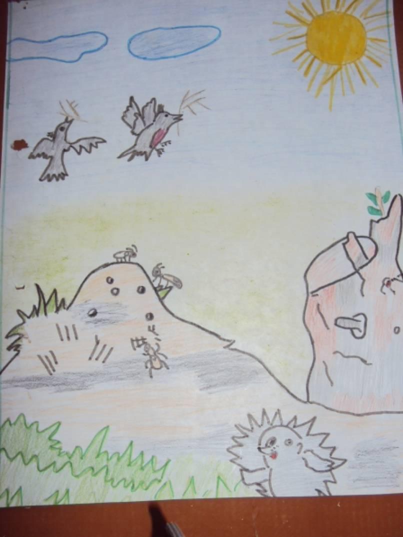 Конкурс рисунков «Весна красна»