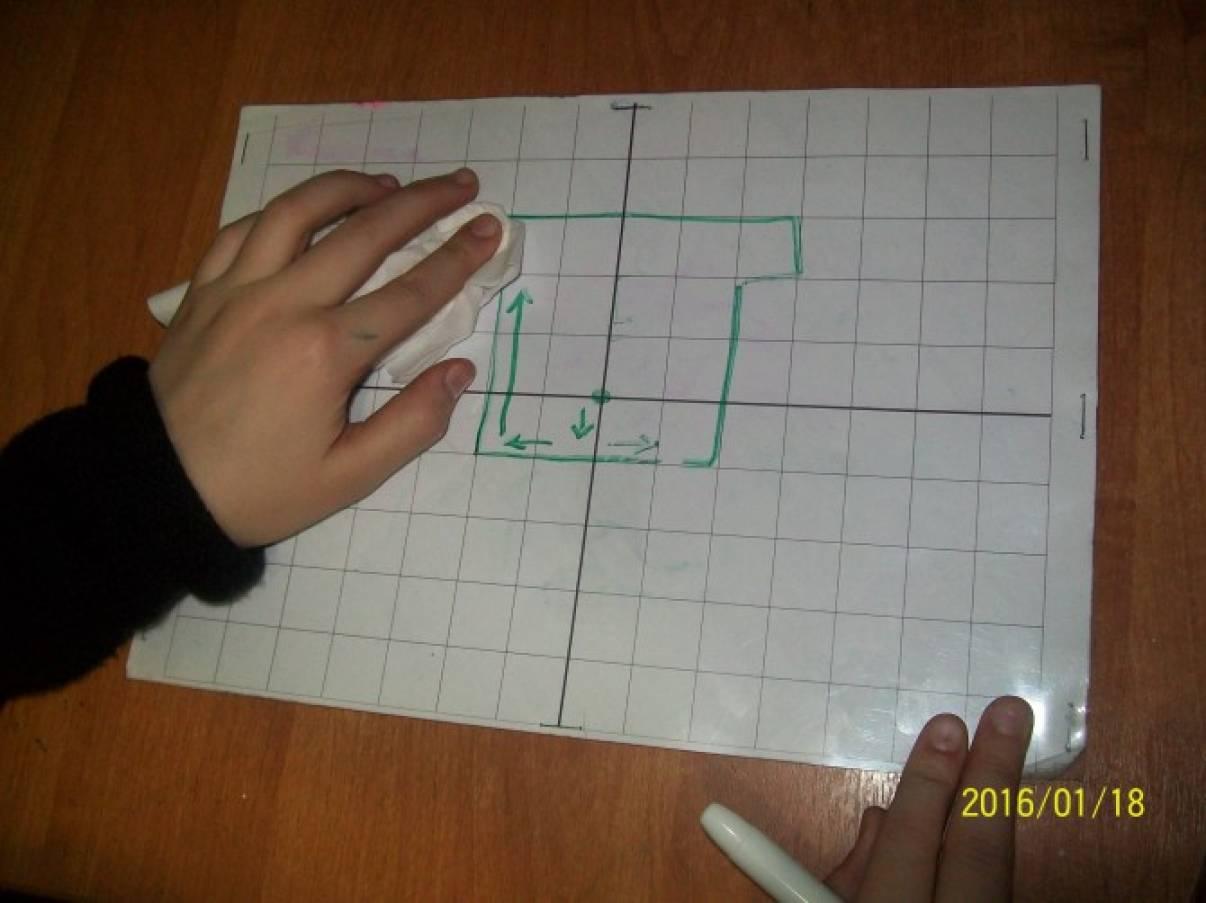 Дидактическая игра «Математический планшет»