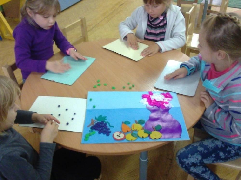 знакомство детей с овощами фруктами