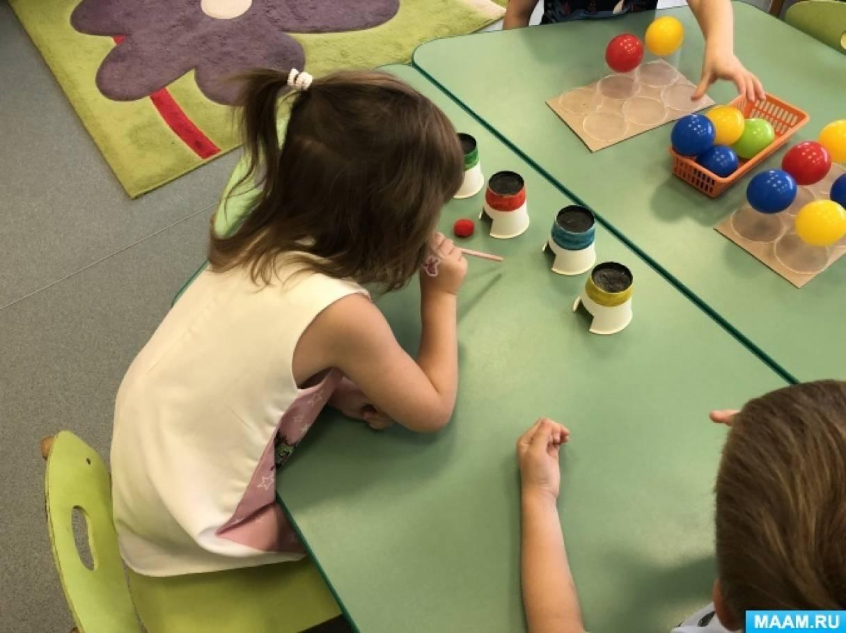Развивающие игры из одноразовых стаканчиков «Домики», «Колпачок» своими руками