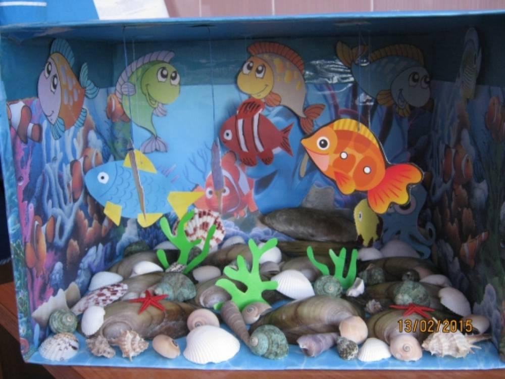 Как сделать аквариум с рыбами