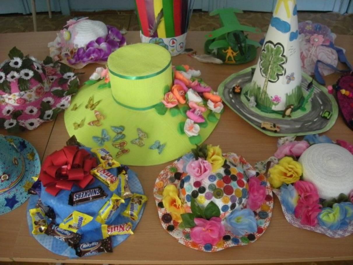 Как украсить шляпу для конкурса в детский сад