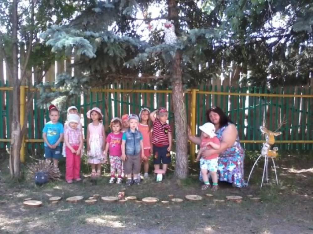496Оформление клумб в детском саду летом фото своими руками