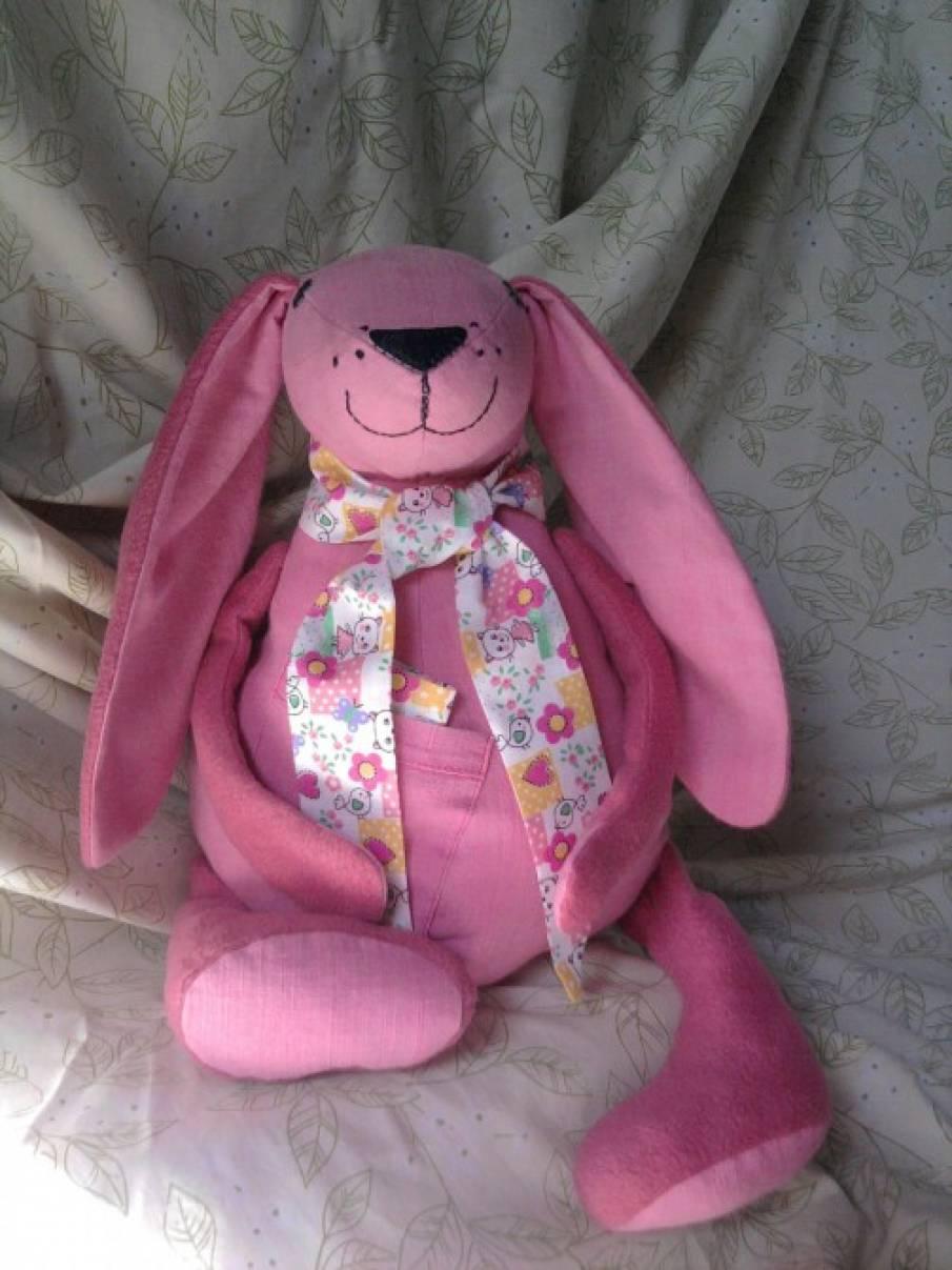 Дидактическая игрушка «Пасхальный заяц»