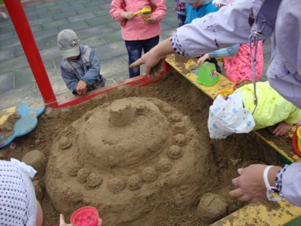 Как на торте сделать песок 22