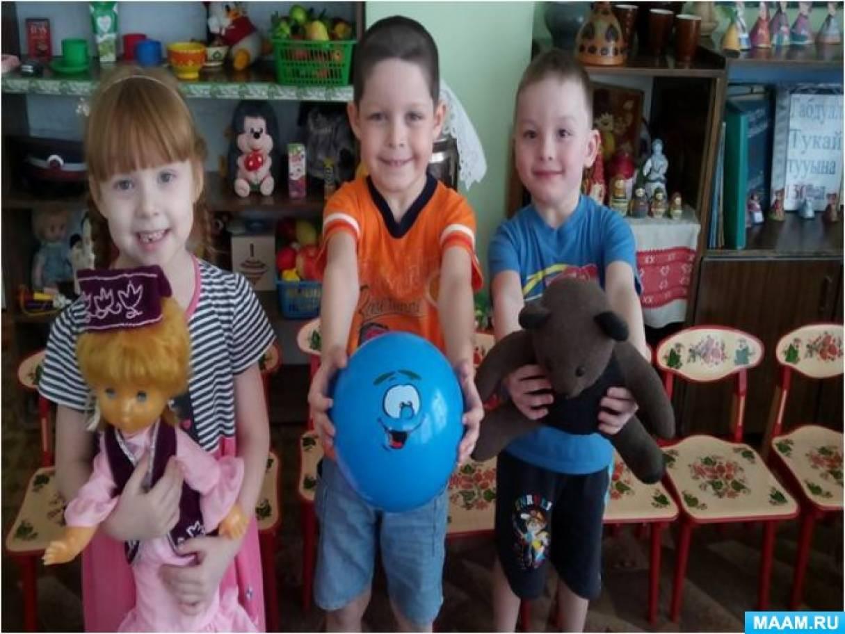 Фотоотчёт о реализации проекта «Уенчыклар (Игрушки)» с детьми средней группы