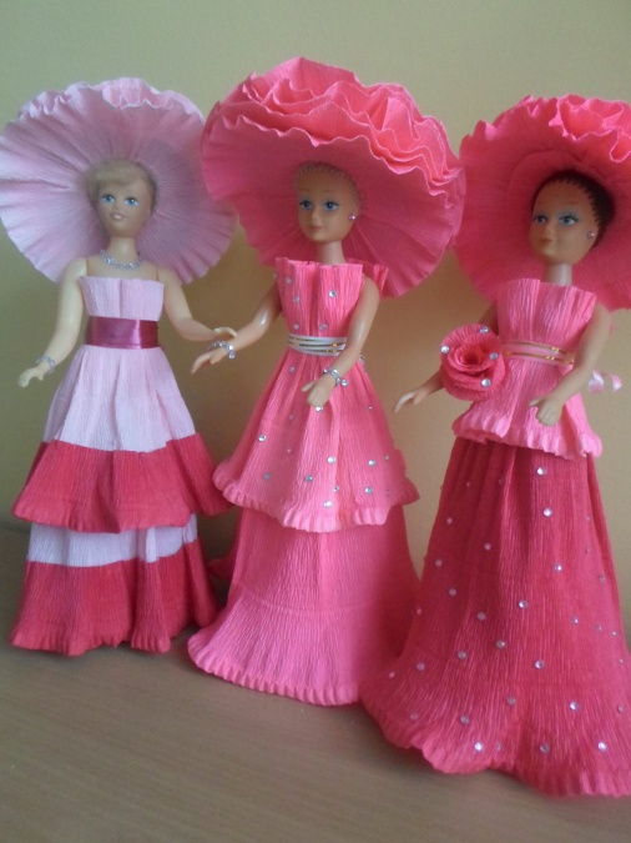 Как сделать кукол для девочек 470