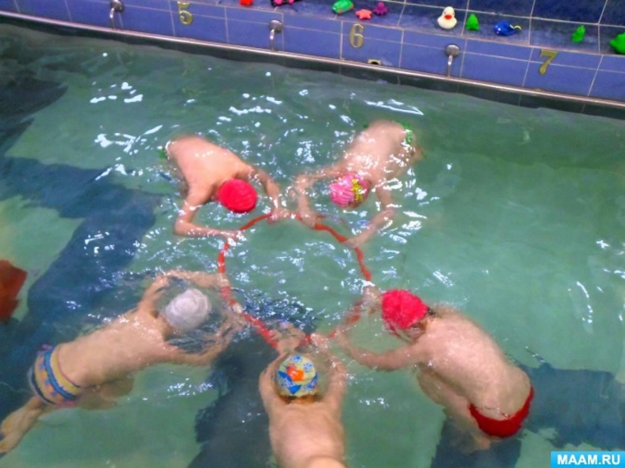 Сценарий спортивного развлекательного праздника на воде «Кваквакыч и его друзья»