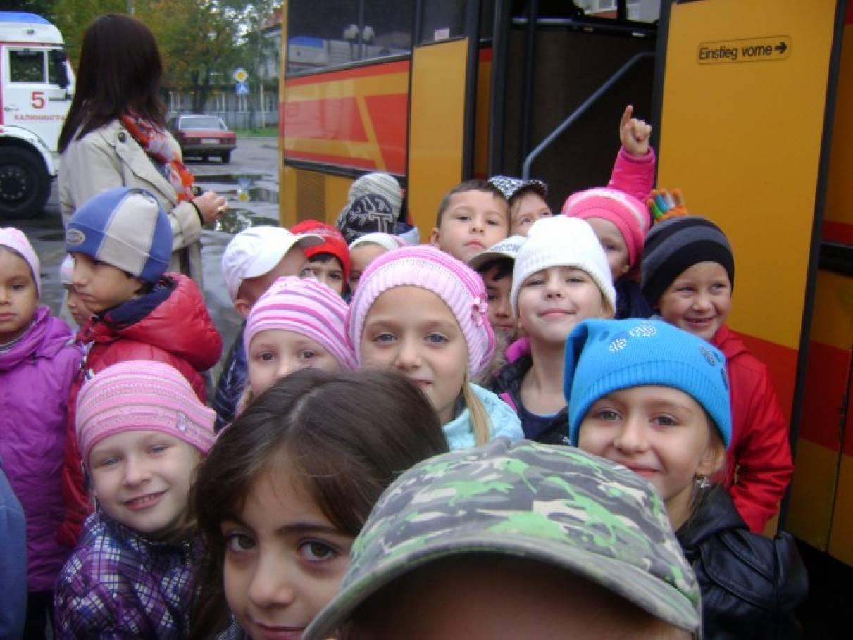 знакомство детей с профессией пожарный