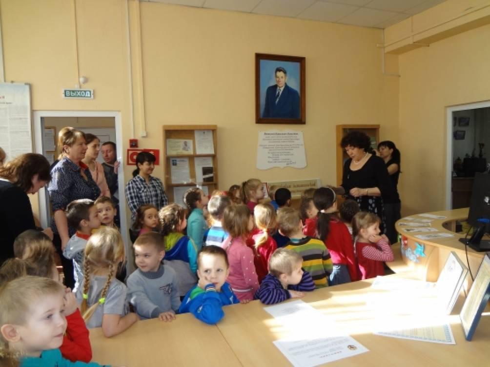 Фотоотчёт «Экскурсия в детскую библиотеку»