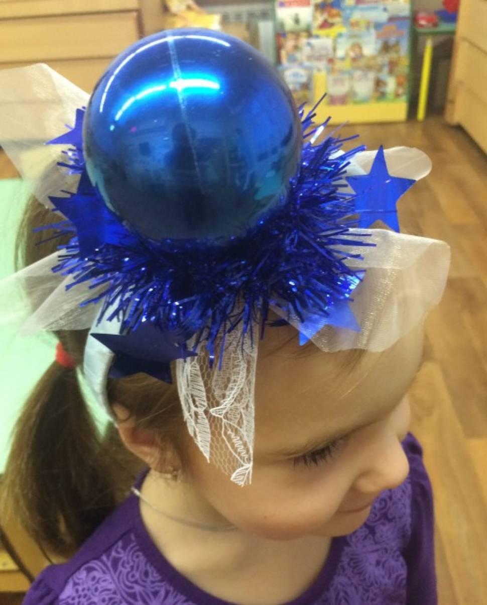 Новогодние головные уборы для девочек своими руками 32