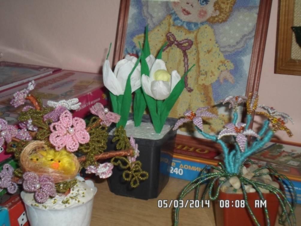 Выставка поделок для мамы