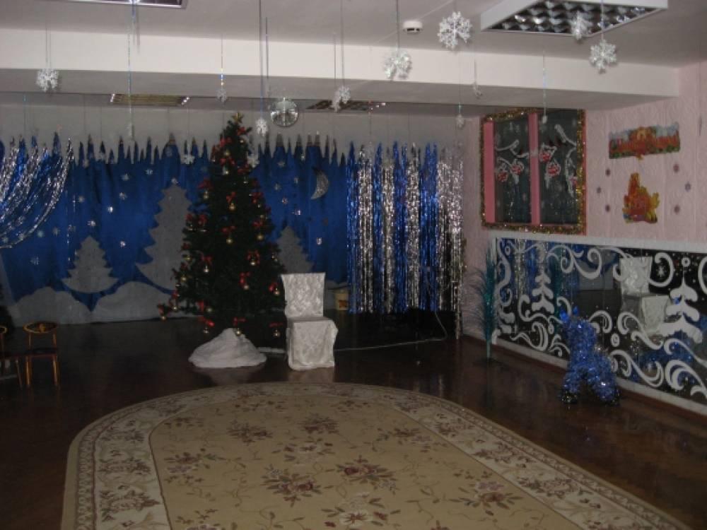 Новый год в детском саду оформление зала