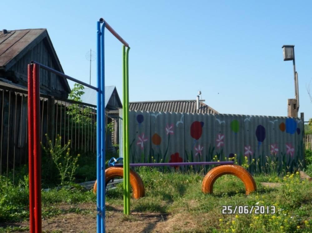 Поделки для территории детского сада