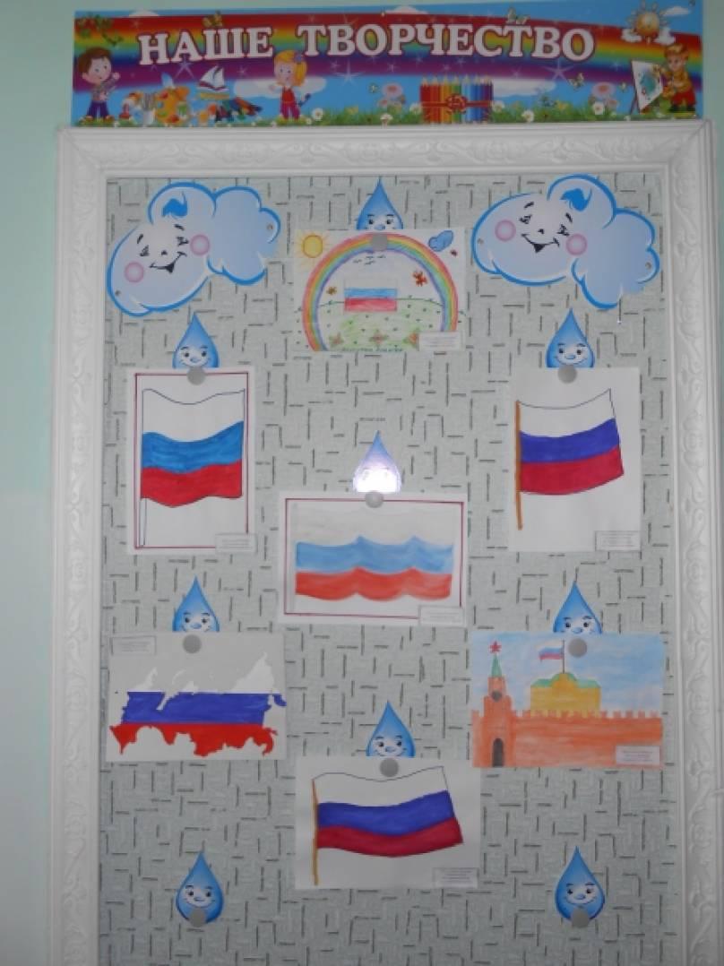 Оформление патриотический уголок в детском саду картинки
