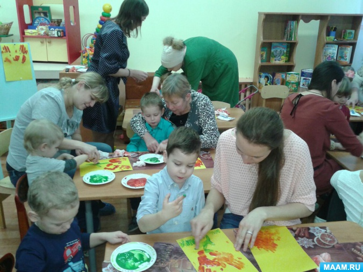 Мастер класс для родителей младшей группы - Дошколенок. ру - сайт для воспитателей ДОУ и родителей дошколят