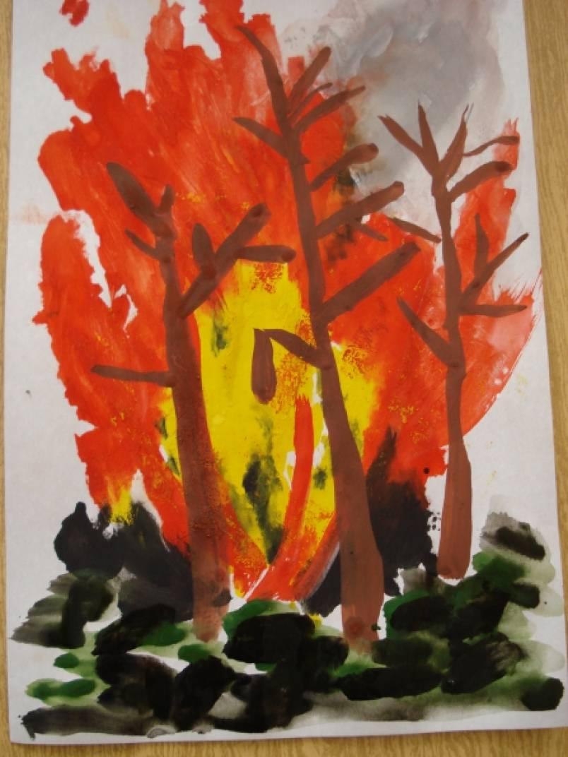 Рисуем огонь