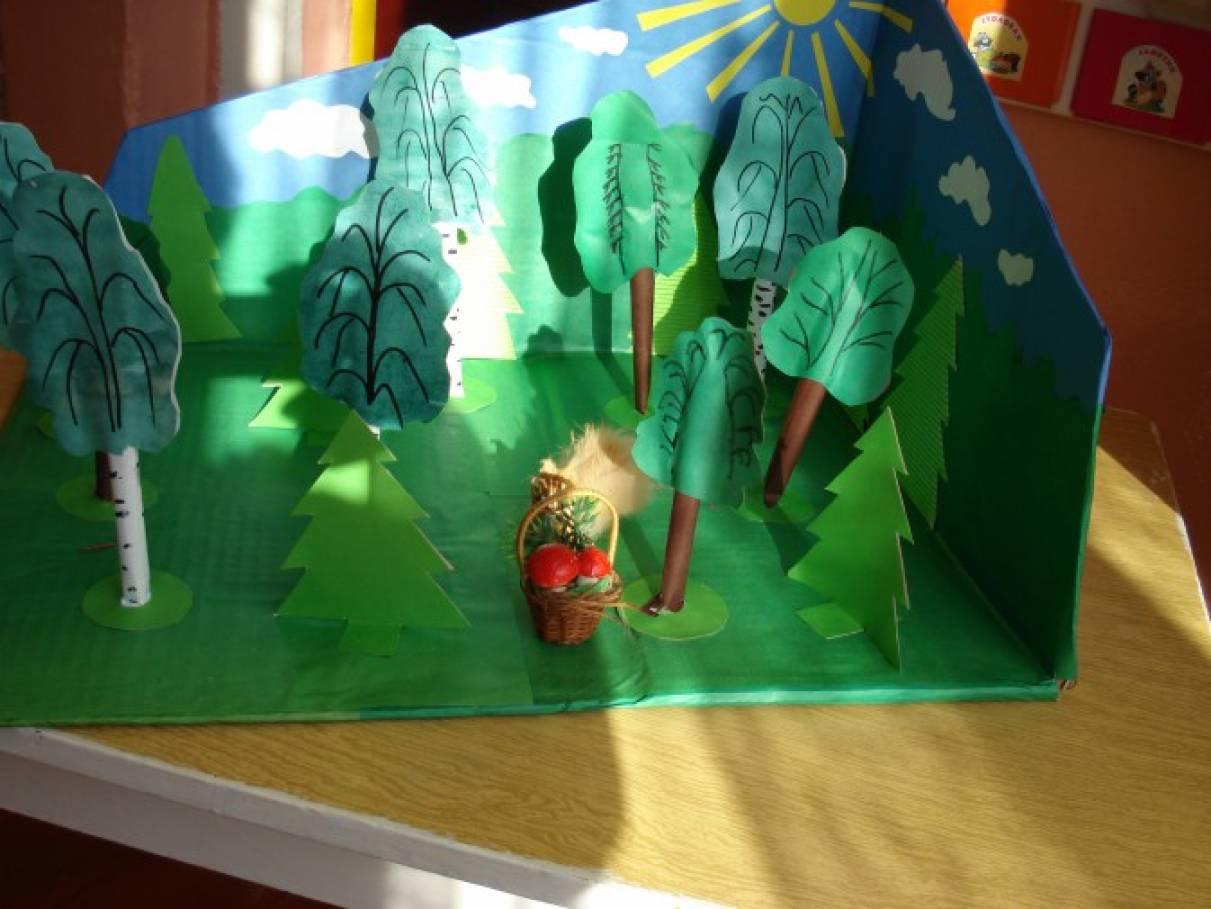 Поделки про лес своими руками 3