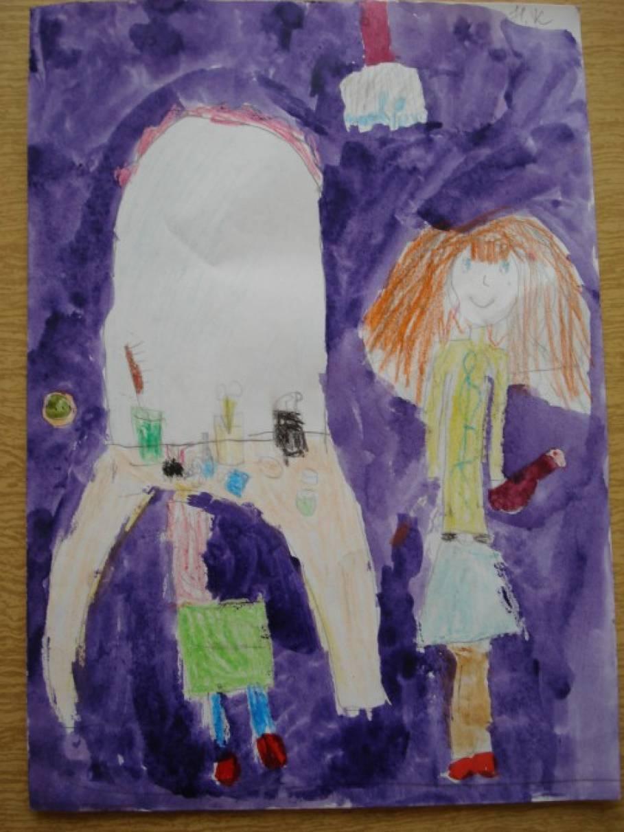Раскраски прически для детей