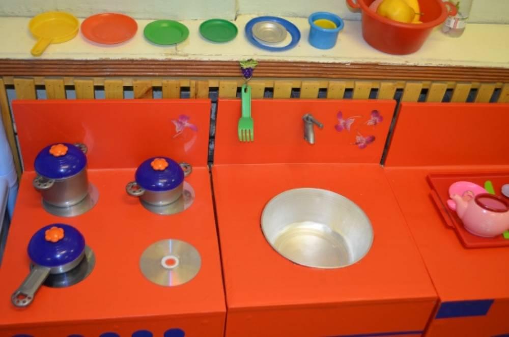 Кухня в детском саду своими руками