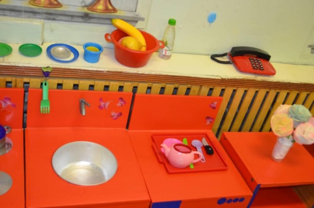 Кухня для детского сада своими руками