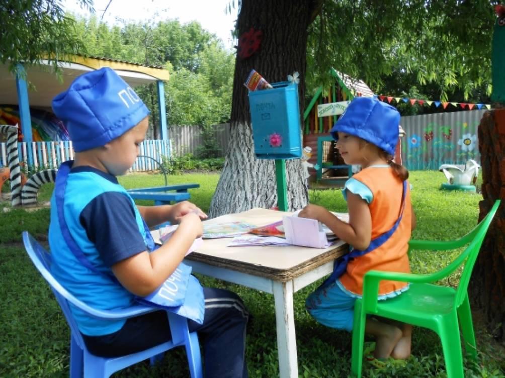 Детской площадки в доу летом фото