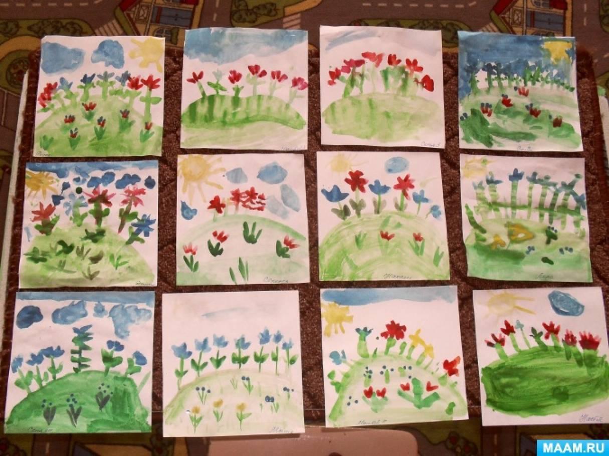 красивые рисунки с детьми подготовительной группы уинслет