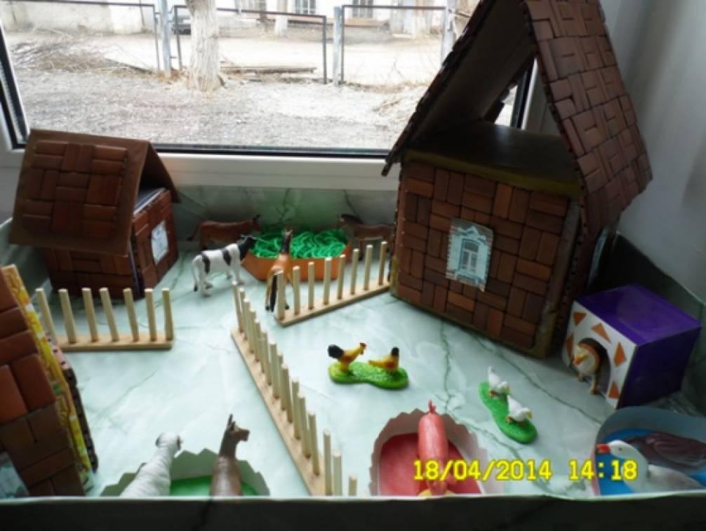 Макет деревни для детского сада