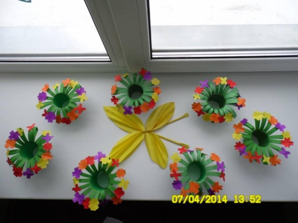 Оформление группу цветами в детском саду