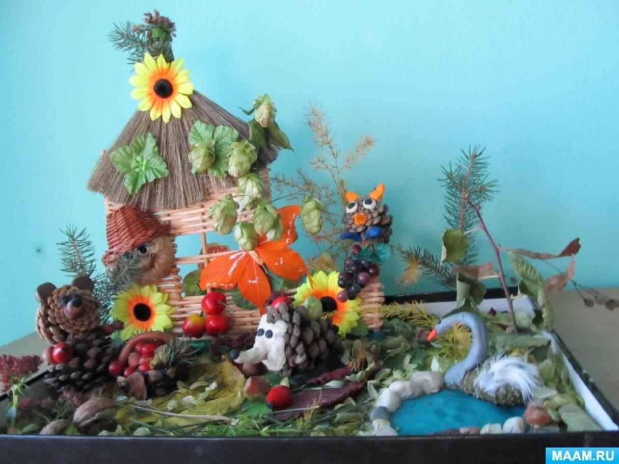 Детский сад выставка поделок