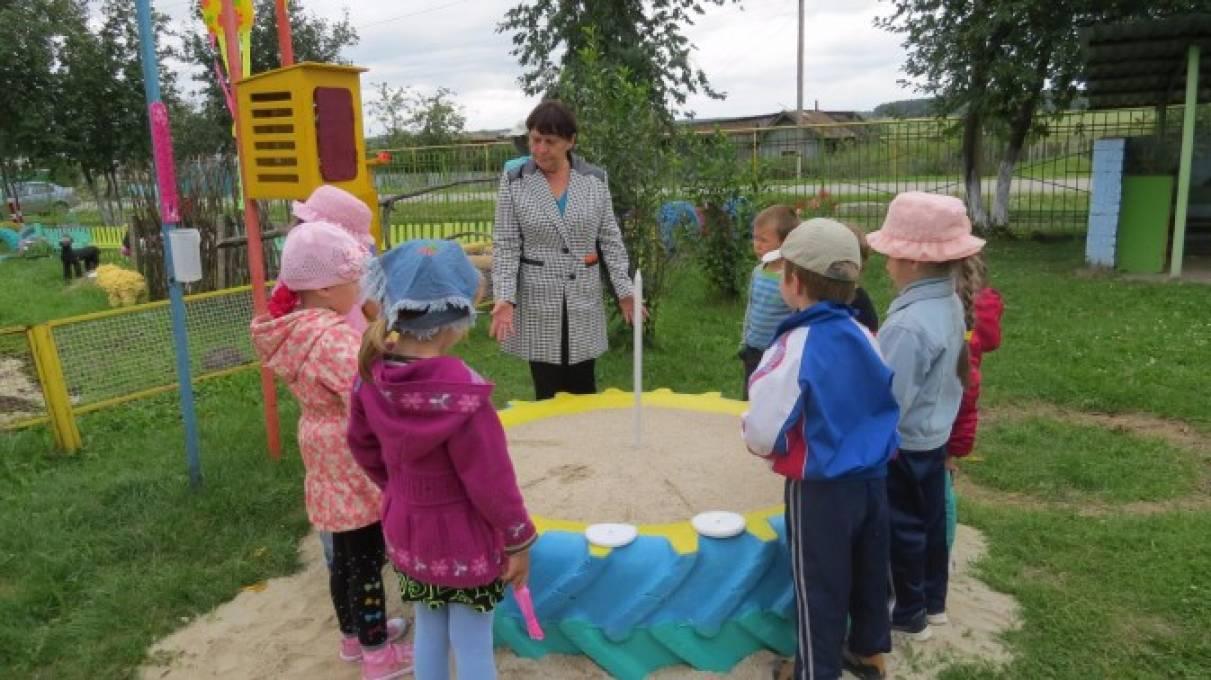 знакомство с природными явлениями в детском саду