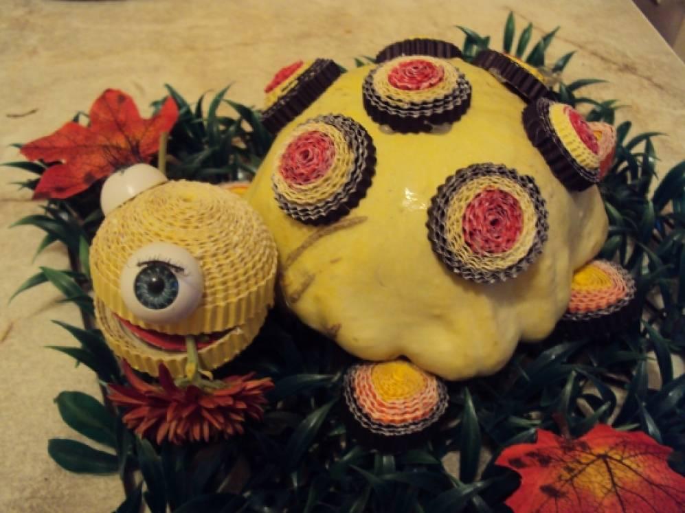 Поделка «Черепаха Тортилла». Воспитателям детских садов 65