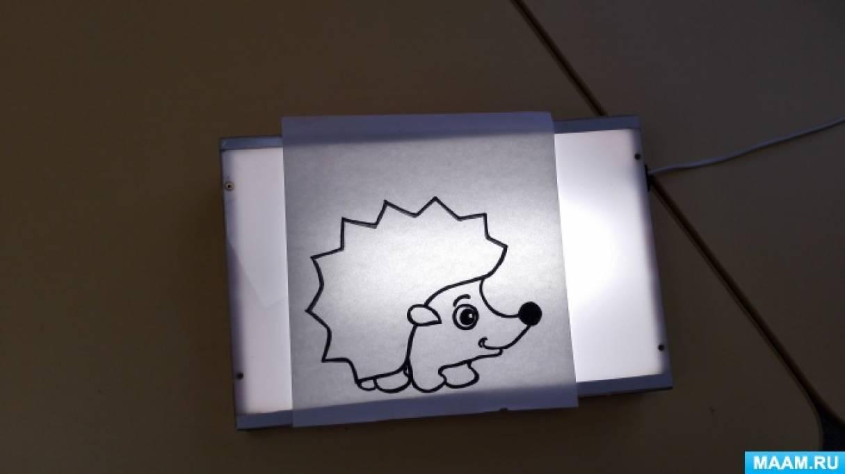 Дидактическая игра для детей с нарушением зрения «Нарисуй предмет» (с использованием тифлоприбора «Светлячок»)