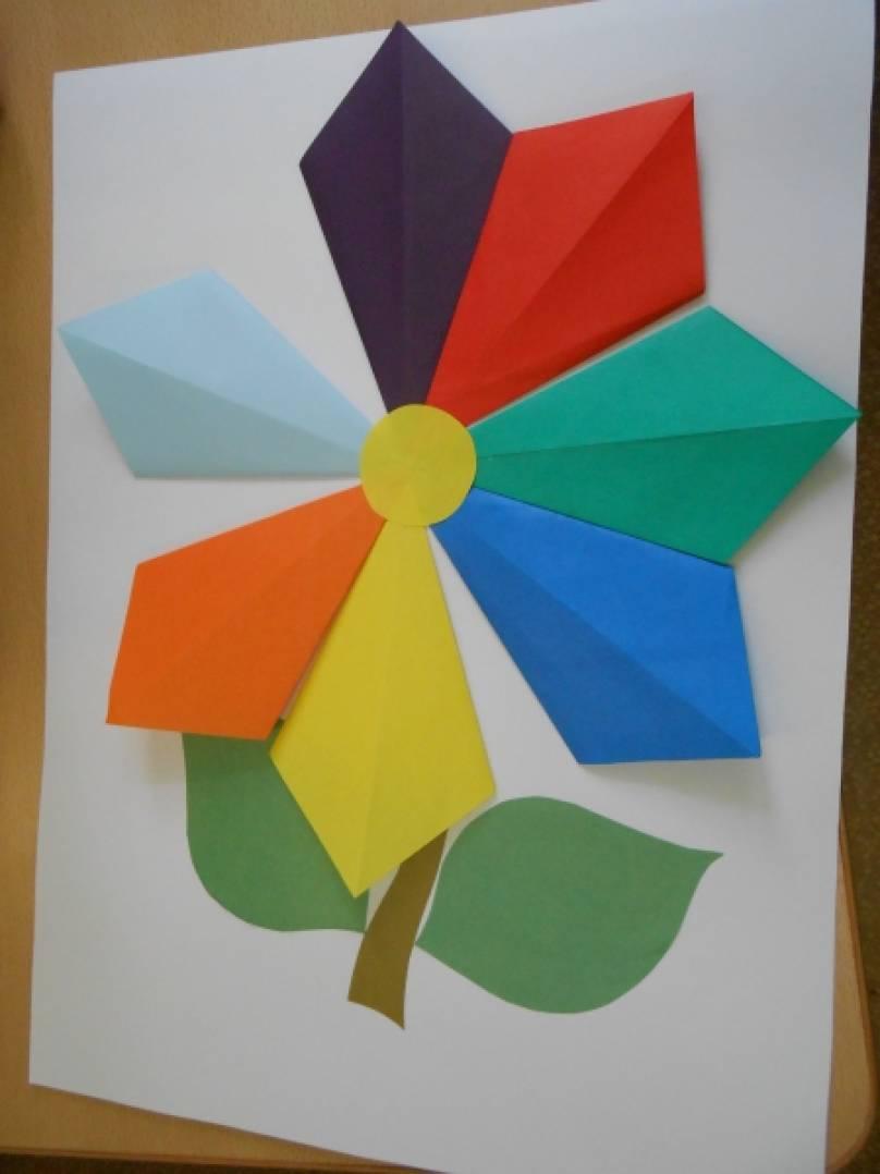 Днем, открытка семицветик своими руками