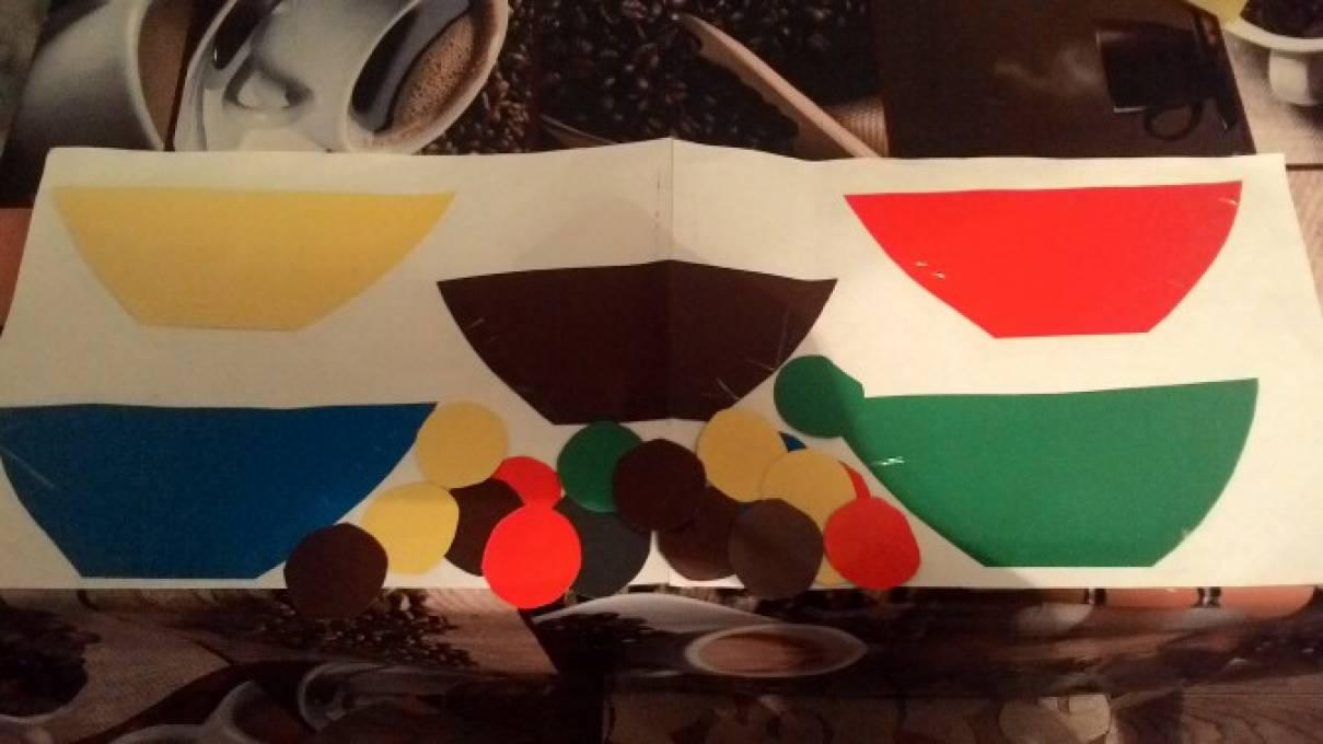 Дидактические игры на восприятие цвета для младших дошкольников