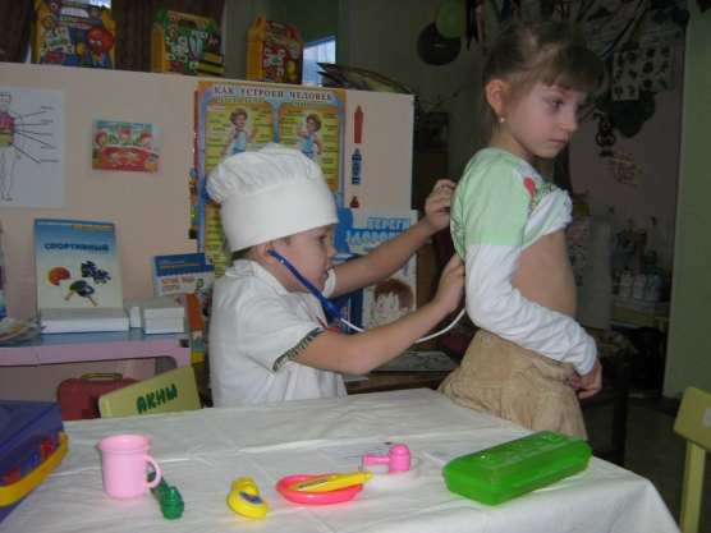 как знакомить дошкольников со строением человека