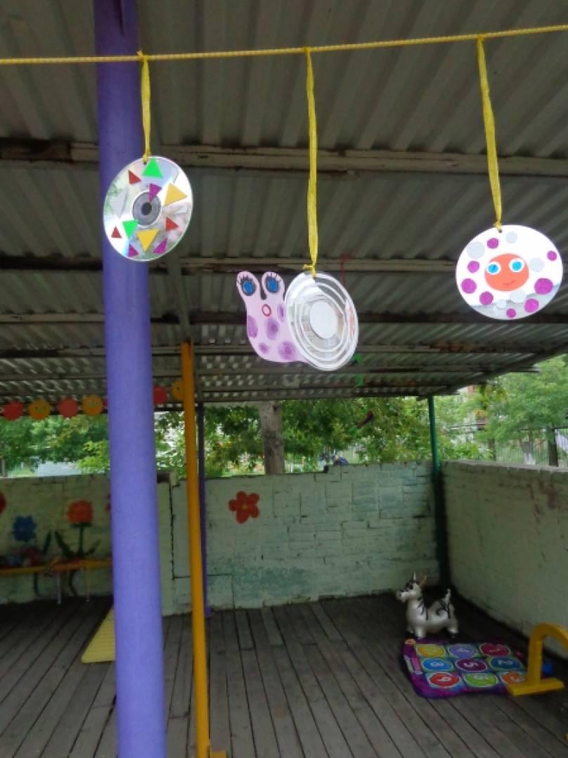 Гирлянды своими руками на веранду детского сада