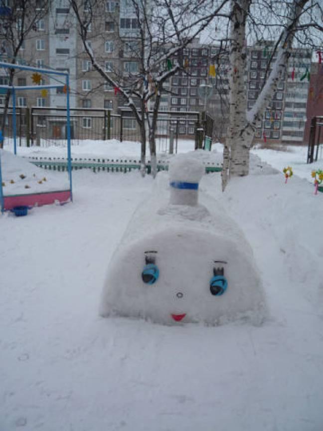 Какие фигуры из снега можно сделать фото фото 972